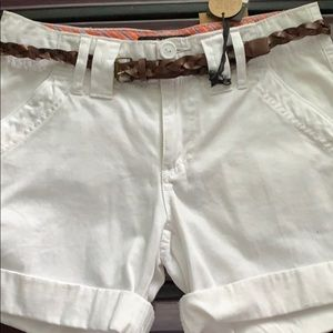 Sanctuary NWT White Shorts